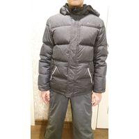 Куртка пуховик р.140-146