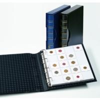 Leuchtturm Grande Classic-папка с футляром(шубером) для 200 монет в холдерах(формат А4).