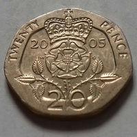 20 пенсов, Великобритания 2005 г.