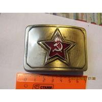 Дембельская пряжка военнослужащего Советской армии, с рамкой.