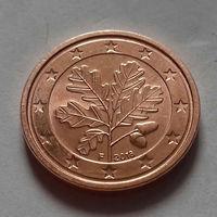 1 евроцент,  Германия 2018 F, UNC