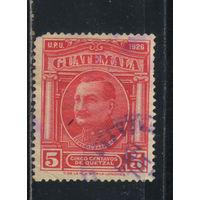 Гватемала 1929 Вып Национальные символы Генерал Орельяна Стандарт #225