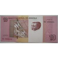 Ангола 10 кванза 2012 г.