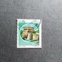 Марка Италия 1980 год. Замки