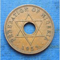 Нигерия Британская колония 1 пенни 1959