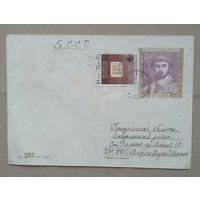 Польский конверт прошедший почту