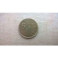 Польша 5 грошей, 2012г. (D-16)