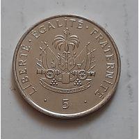 5 сантимов 1997 г. Гаити