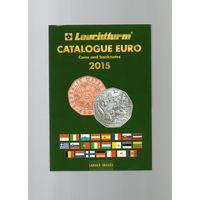Каталог банкнот и монет евро 1999-2015 гг. Leuchtturm