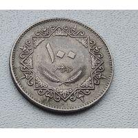 Ливия 100 дирхамов, 1975  8-2-19