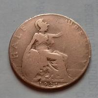 1/2 пенни, Великобритания 1921 г., Георг V