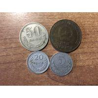 Лот монет Монголии