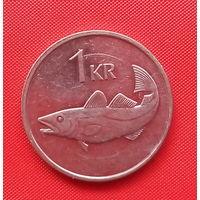 46-08 Исландия, 1 крона 2007 г.