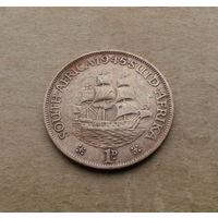 Южная Африка, 1 пенни 1945 г., Георг VI (1936-1952)