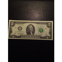 2 доллара США 2013 года  L 3 77 3 66 41 A