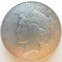 30. США 1 доллар 1926 год, серебро*