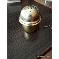 Заварник из металла на одну чашку СССР.