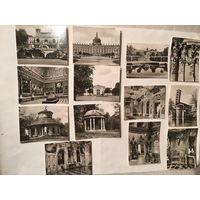 Открытки старинные ГДР Потсдам 13 Шт набор Размер на фото