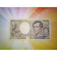 Франция 200 франков 1992г