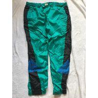 Брюки спортивные 46-50 Мода 90-х зелёные