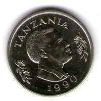 Танзания 50 центов 1990 года.