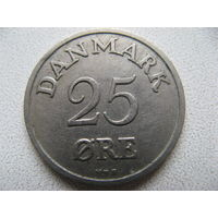 Дания 25 эре 1950 г.