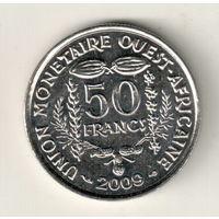 Западная Африка 50 франк 2009