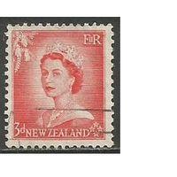 Новая Зеландия. Королева Елизавета II. 1953г. Mi#336.