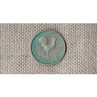 Малави 6 пенсов 1967 /фауна/петух//(С)