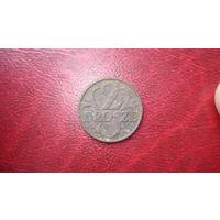 2 гроша 1928 год Польша
