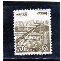 Египет. Mi:EG 1321. Мост 6 октября, Каир. 1979.