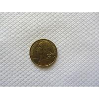 10 сантимов 1994 Франция KM# 929 алюминиевая бронза