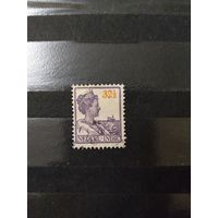 1922 Голландская колония Ост-Индия королева (4-8)