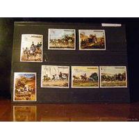 Парагвай 1974 Техника Доставка почты конными экипажами
