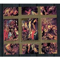 Гвинея-Бисау - 1977 - Картины. Рубенс - [Mi. bl. 75] - 1 блок. MNH.