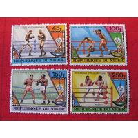 Нигер. 1979. Олимпийские игры. Сер. 4 м.