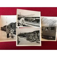 4 фото ВМВ горные егеря - Восточный фронт - оригиналы (цена за обе)