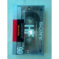 Фирменная аудио кассета SONY из СССР  в упаковке
