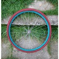 """Переднее колесо  велосипеда Орленок """"Vairas""""."""