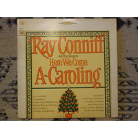Конверт пластинки - Ray Conniff and the singers - Here we come a caroling - Columbia, USA