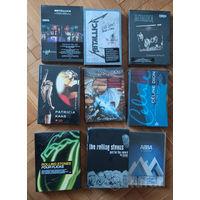 Продаю ЗАПЕЧАТАННЫЕ ФИРМЕННЫЕ музыкальные DVD(США)