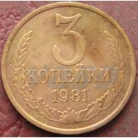 4041:  3 копейки 1981 СССР