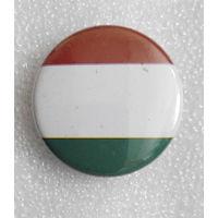 Значок. Флаг Венгрии, ну или Италии, кому как нравится #0161