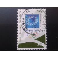 Греция 2000 эмблема олимпиады 2004