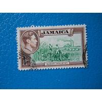 Ямайка. 1938 г. Мi-134. Георг VI. Производство сахара.