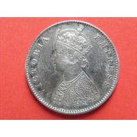 1/2 рупии 1889 года