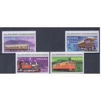 [1348] Гана 1978. Поезда,локомотивы.