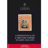 Stanley Gibbons. 2020. Электронный каталог. PDF. 690 с. Великобритания и Содружество.