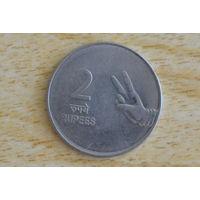 Индия 2 рупии 2007