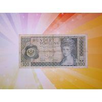 Австрия 100 шиллингов 1969г